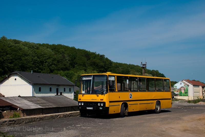 Az ÉMKK Ikarus 260.43 CCJ-148 Rudabányán fotó