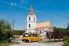 Az ÉMKK Ikarus 260.43 CCJ-148 Égérszögön a református templomnál