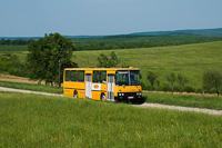 Az ÉMKK Ikarus 260.43 CCJ-148 Felsőtelekes mellett