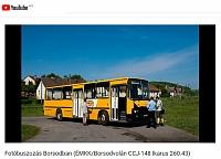 [VIDEO] Az ÉMKK/Borsodvolán Ikarus 260.43 CCJ-148 útjáról egy rövid videó is készült