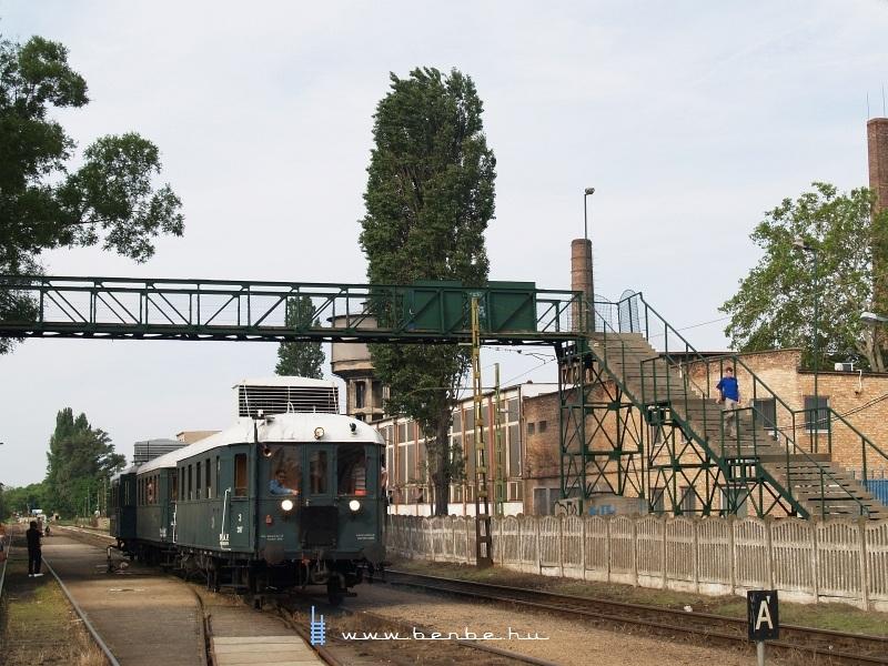 BCmot 397 Kispest állomáson fotó