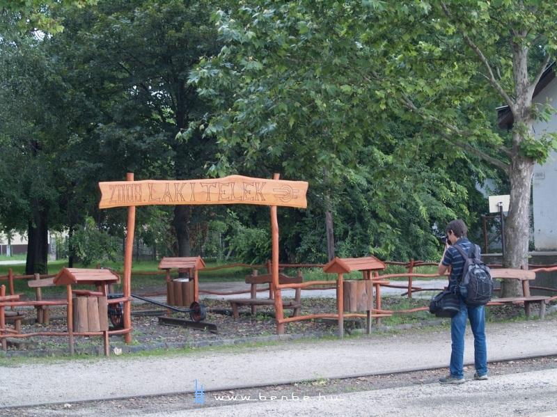 Vasúti játszótér Lakitelken fotó