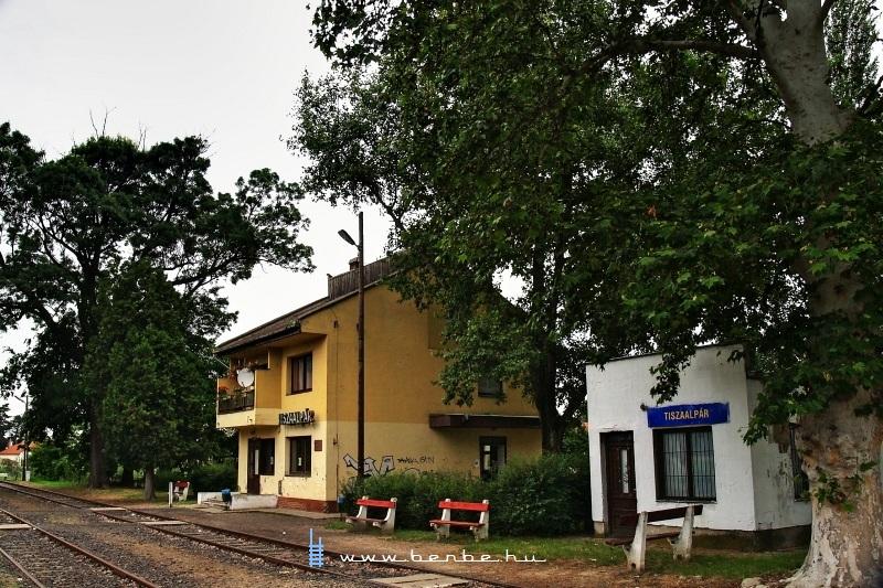 Tiszaalpár vasútállomás fotó
