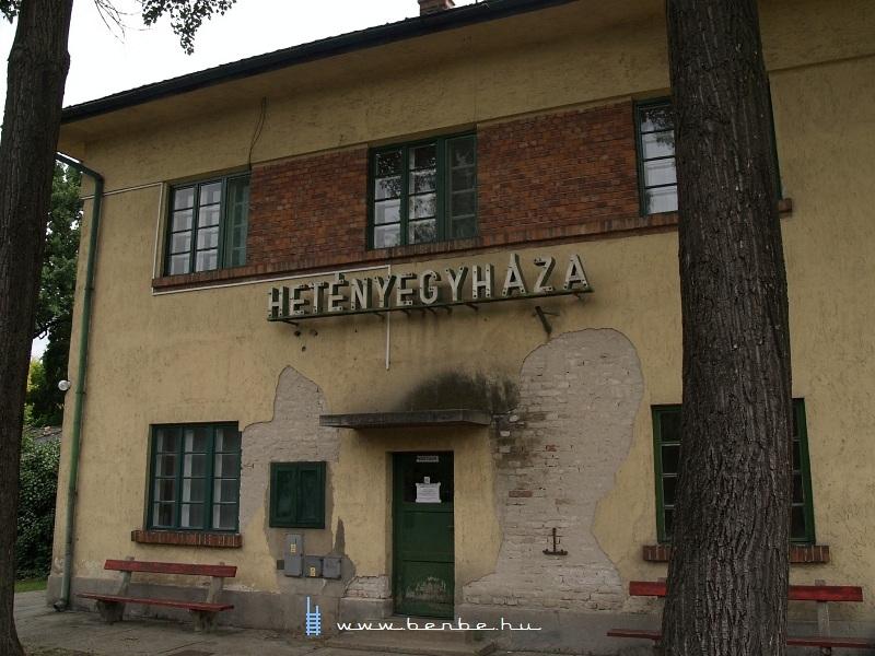Hetényegyháza vasútállomás fotó