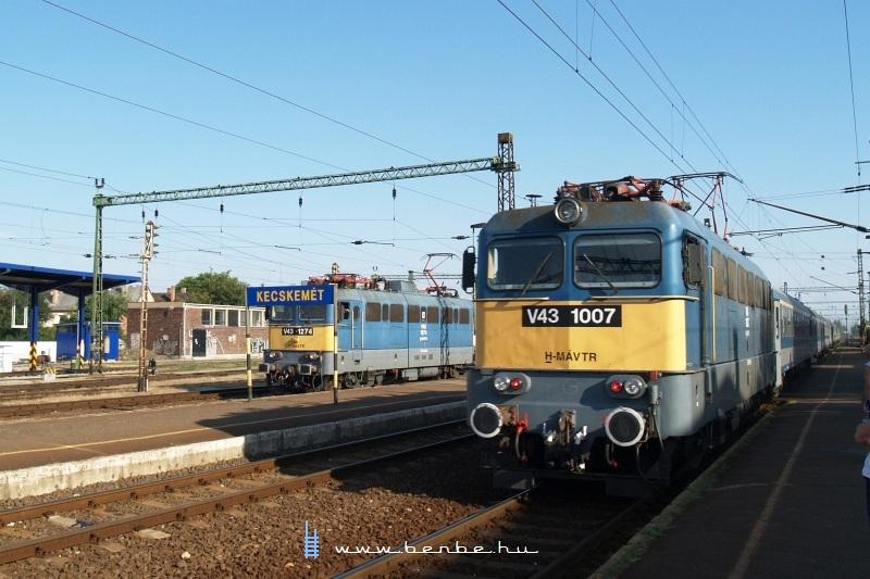V43 1007 Kecskeméten fotó
