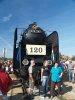 Many wanted to have a photo with the famous locomotive