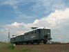 Az ABnymot 502 p�lyasz�m�, h�romtengelyes, hossz�tott Ganz mell�kvonali motorkocsi Mikl�stelep �s Kecskem�t-M�riav�ros k�z�tt