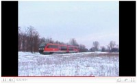 [VIDEO]The 6342 014-5 speeding up just after Felsőpakony on its way to Gy�l