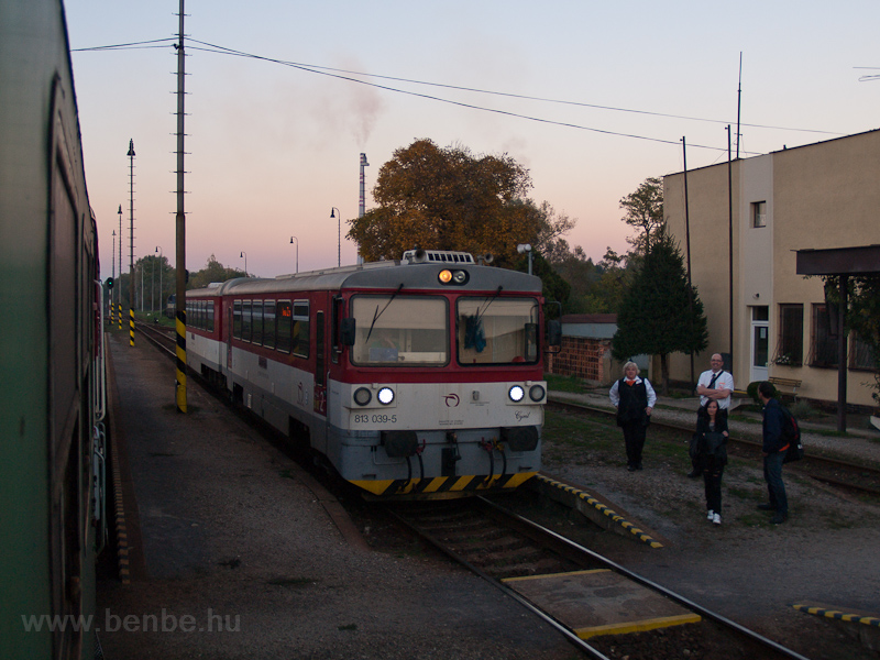The ŽSSK 813 039-5 see photo