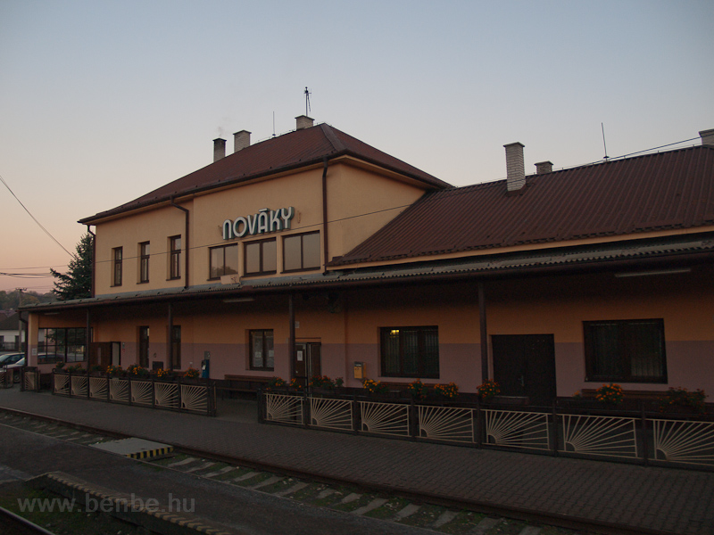 Nováky station photo