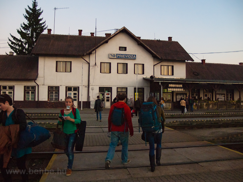 Prievidza station photo