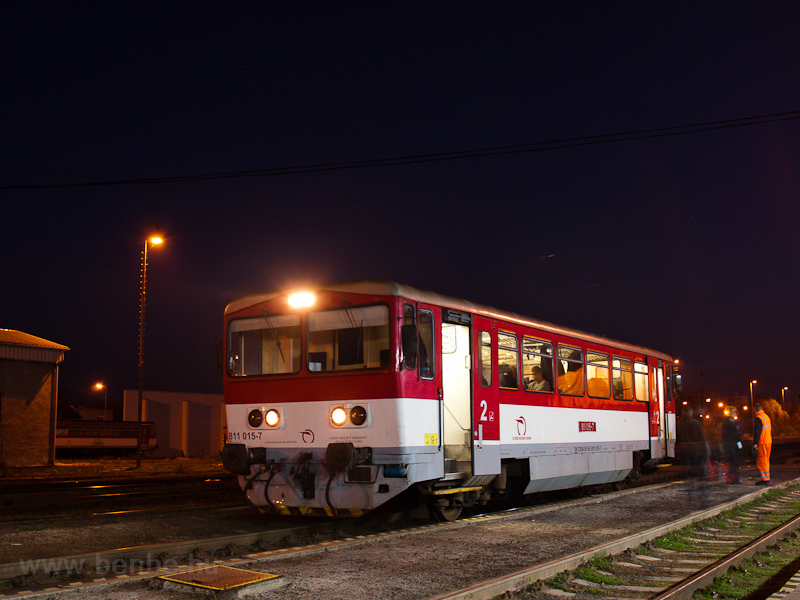 The ŽSSK 811 015-7 see photo