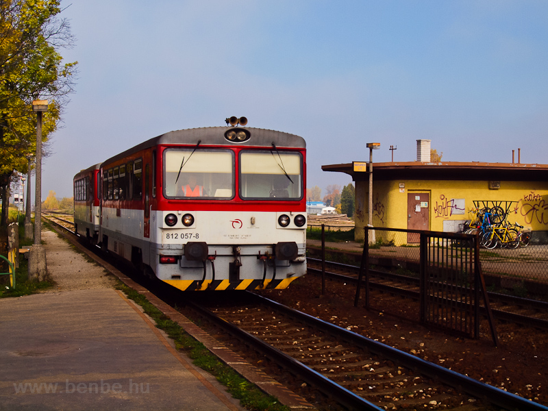 The ŽSSK 812 057-8 see photo