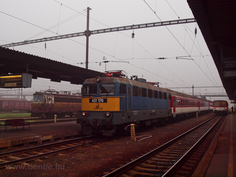 The MÁV-TR 431 176 seen at  photo