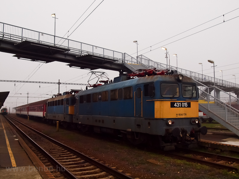 The MÁV-TR 431 015 seen at  picture