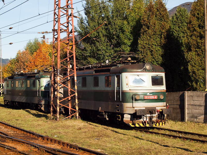 A ŽSSKC 183 026-4 Rutt fotó