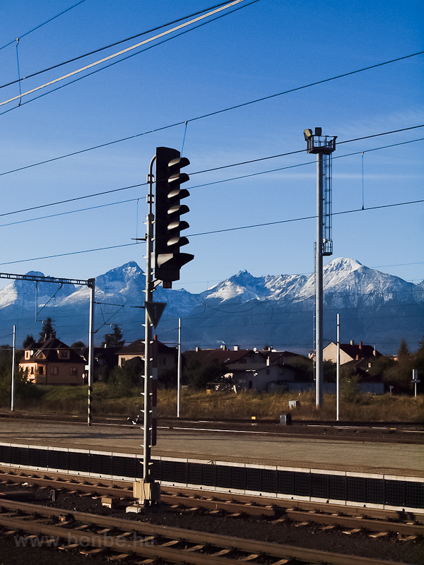Signal at Poprad-Tatry photo