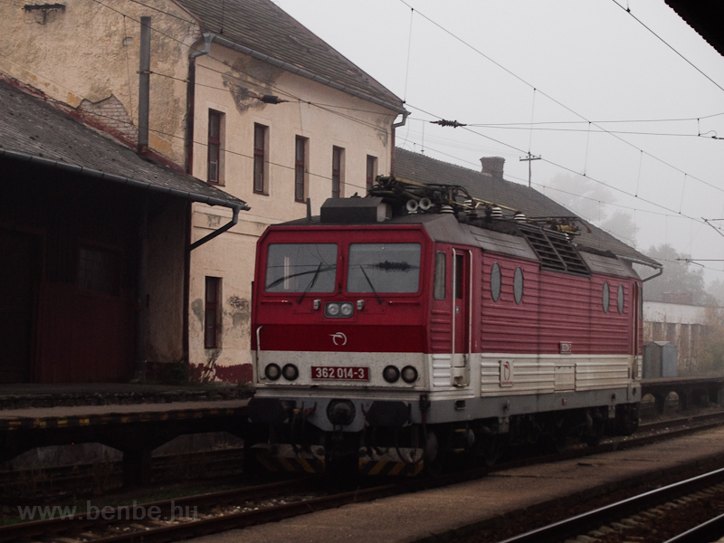 The ŽSSK 362 014-3 see photo
