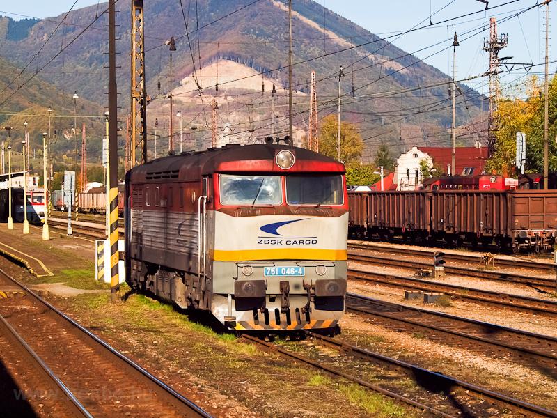 A ŽSSKC 751 046-4 Rutt fotó