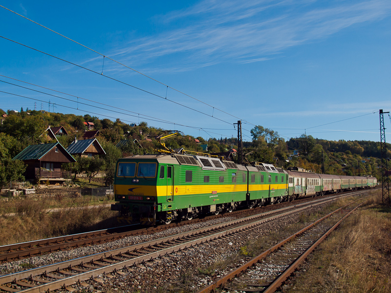 The ŽSSK 131 014-3 seen between Okulicné and Liptovsky Mikulás photo