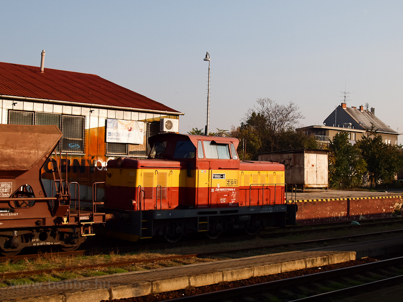 The ŽSR 710 606-5 seen photo