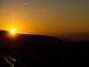 Napnyugta a Nyitra-patak völgyében