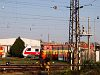 A Laminat and a new class 861 diesel multiple unit seen at Nov� Z�mky