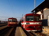A ŽSSK 812 050-3 és a 812 033-9 Léva állomáson