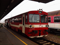 A ŽSSK 812 049-5 Párkány-Nána állomáson