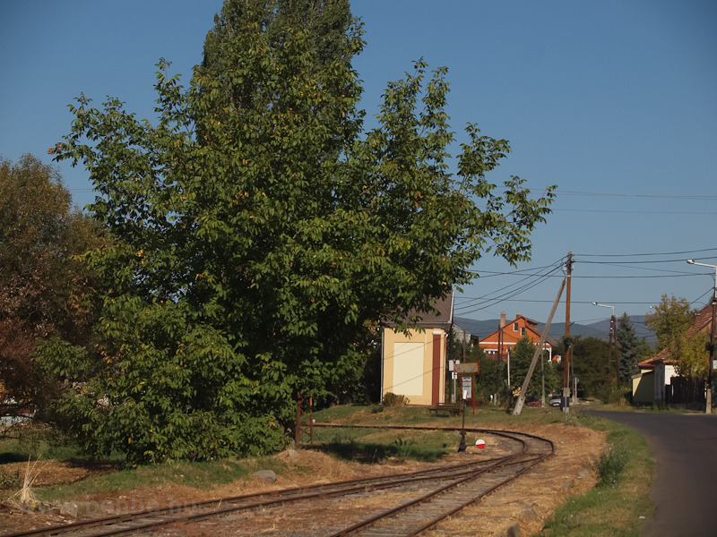 Jánoska forgalmi kitérő és a mögötte levő megállóhely fotó