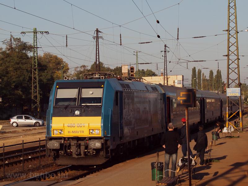 A 480 001 'Kandó Kálmán' bizony lerobbant az InterCity élén fotó