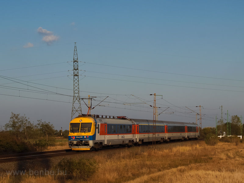 A BVmot 001 Ludas és Nagyút között fotó