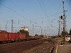 A vicinális körbejáróvágánya és vonatfogadó-vágánya Vámosgyörkön