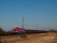 A 1116 045 tehervonattal Nagy�ton