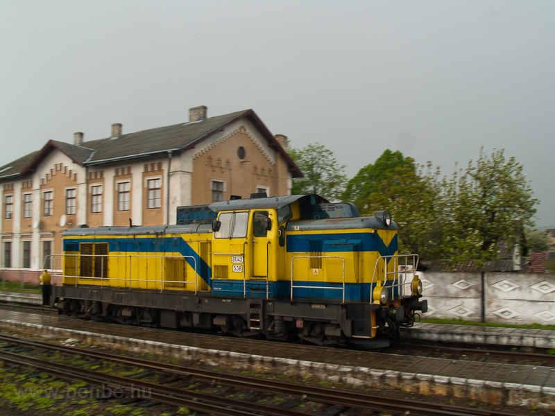 The PKP SU42 538 seen at Хирів photo