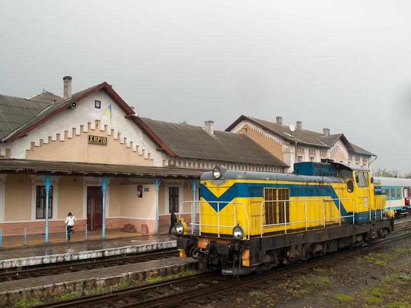A PKP SU42 538 Khyriv állomáson fotó