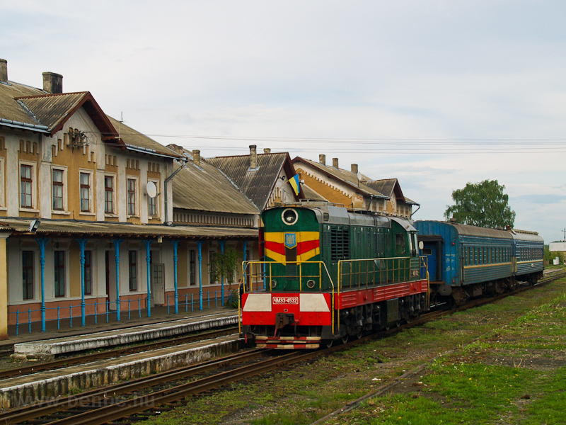 The UŽ ChME3 4532 seen photo