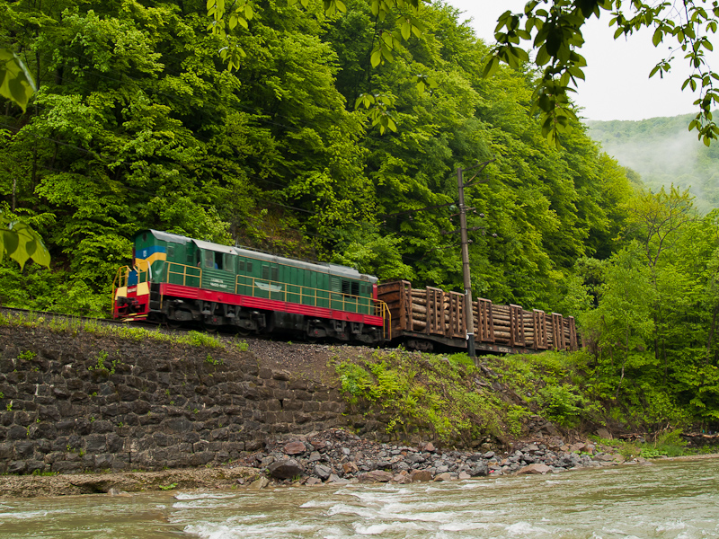 The UŽ CsME3 4687 seen picture