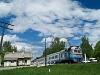 A D1 658-1 pályaszámú Ganz-MÁVAG motorvonat Javoriv megállóhelynél
