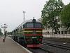 Az UZ 2M62U 0355 Stanislau állomáson