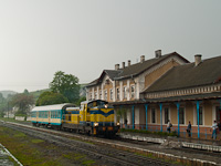 A PKP SU42 538 a  csempészvonat  élén Hiriv állomáson (Хирів, Ukrajna)