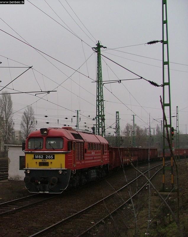 M62 265 Ferencvárosban fotó