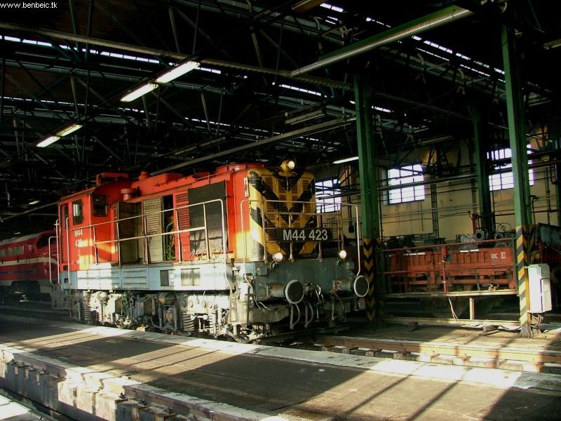 M44 423 a ferencvárosi dízelszínben fotó