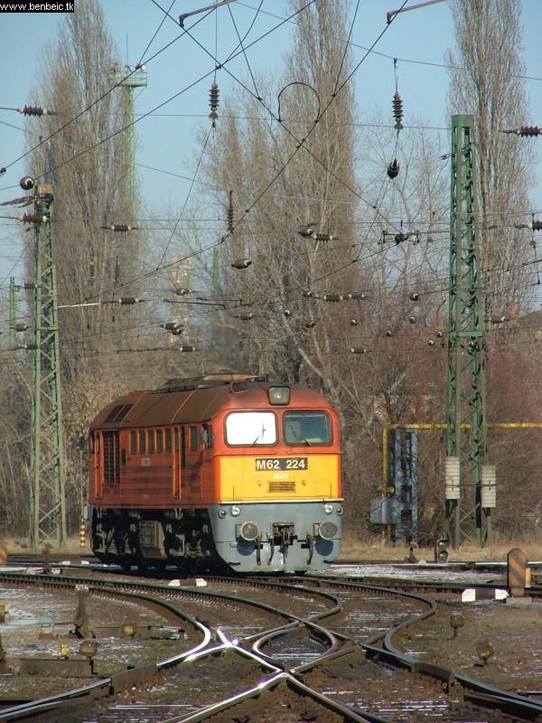 M62 224 Ferencváros Keleti rendezõben fotó