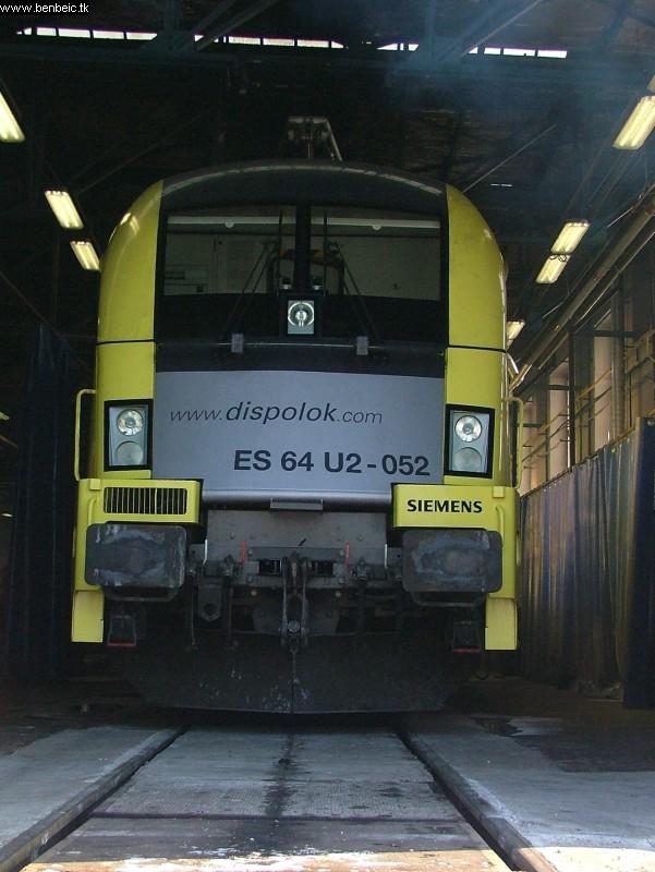 ES 64 U2-052 Ferencvárosban fotó
