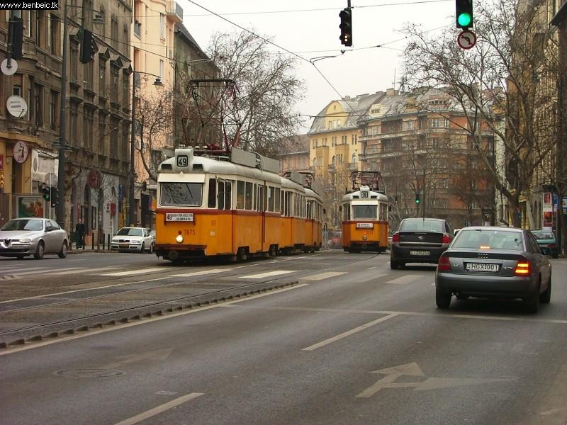 A Bartók Béla úti  villamosok fotó