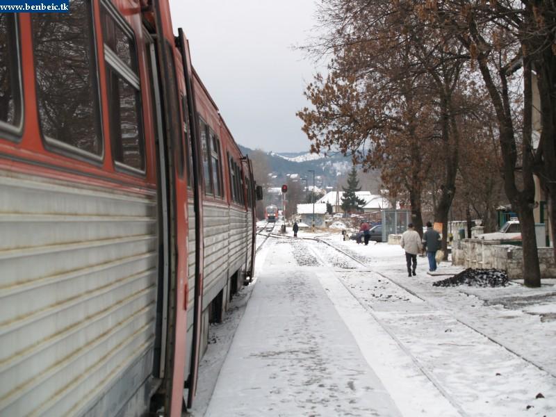 Kereszt Pilisvörösvár állomáson fotó