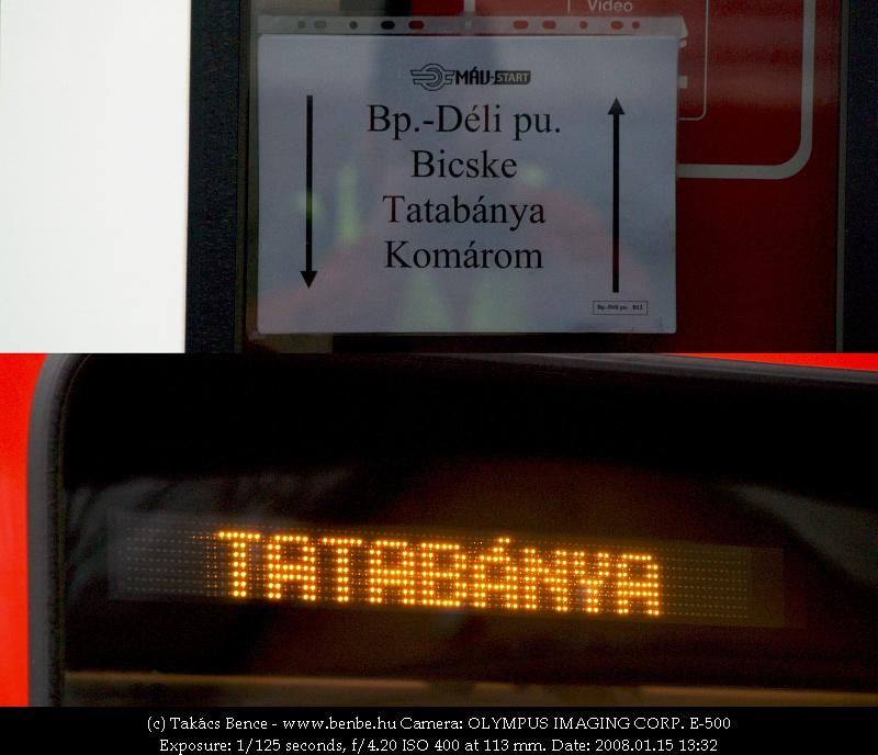 Még mindig a MÁV-Start utastájékoztatása fotó