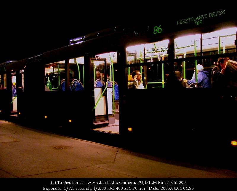 Az elsõ volvós 86-os utasai fotó