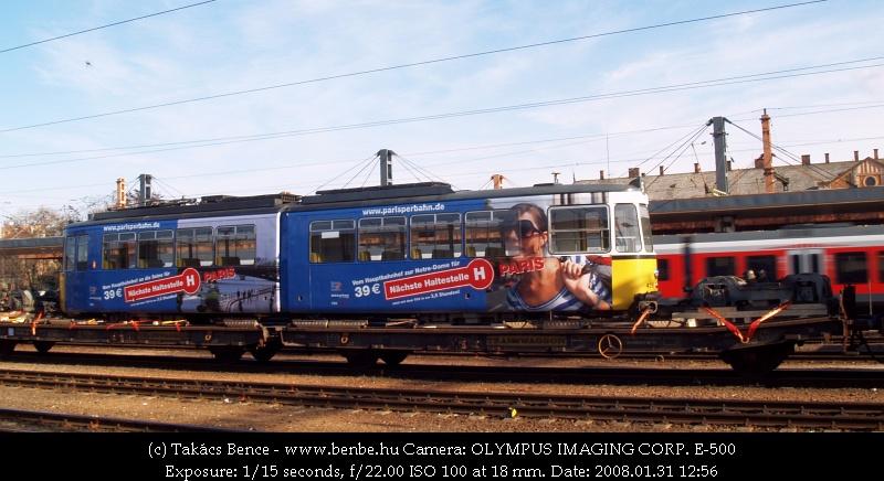 Stuttgarti villamos úton Iasi felé fotó